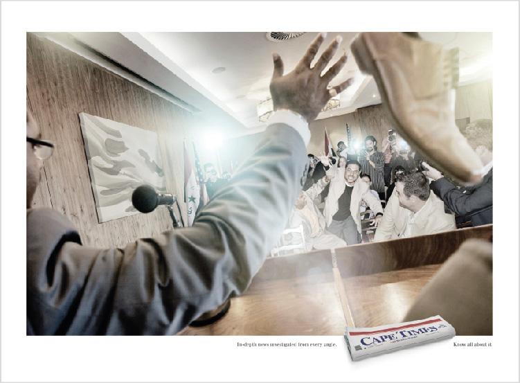Cape Times – 'Shoe' Print Campaign