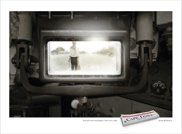 Cape Times – 'Tank' Print Campaign