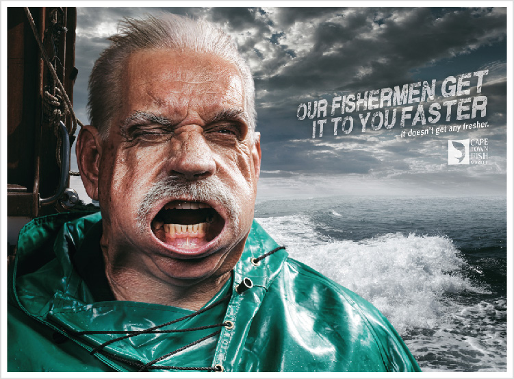 CTFM – 'Fishermen' print campaign