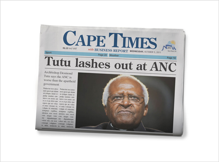Cape Times Radio Interview with Ashraf Gardner