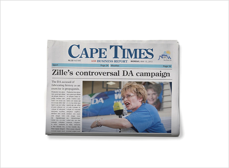 CAPE TIMES 'SELFIES' RADIO CAMPAIGN