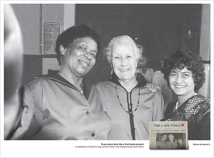 CAPE TIMES – WOMEN'S DAY