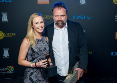 2016 Loerie Awards: 21 August 2016 - Loeries Sunday Winners Back Stage Portraits