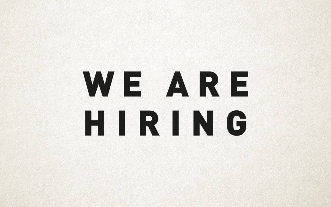 We're Hiring: Jnr Account Executive