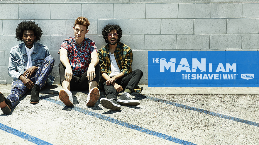 Schick celebrates 'THE MAN I AM' with new campaign