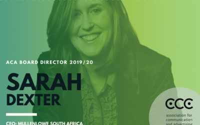ACA Board of director 2019/20: Sarah Dexter