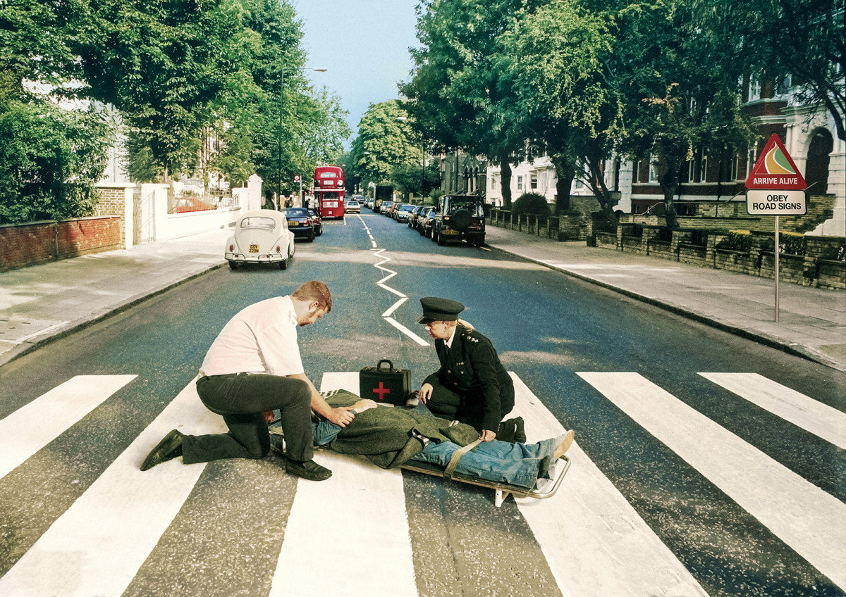 Arrive Alive Abbey Road