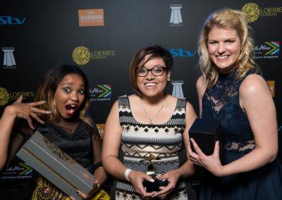 2016 Loerie Awards: 20 August 2016 - Loeries Saturday Winners Back Stage Portraits
