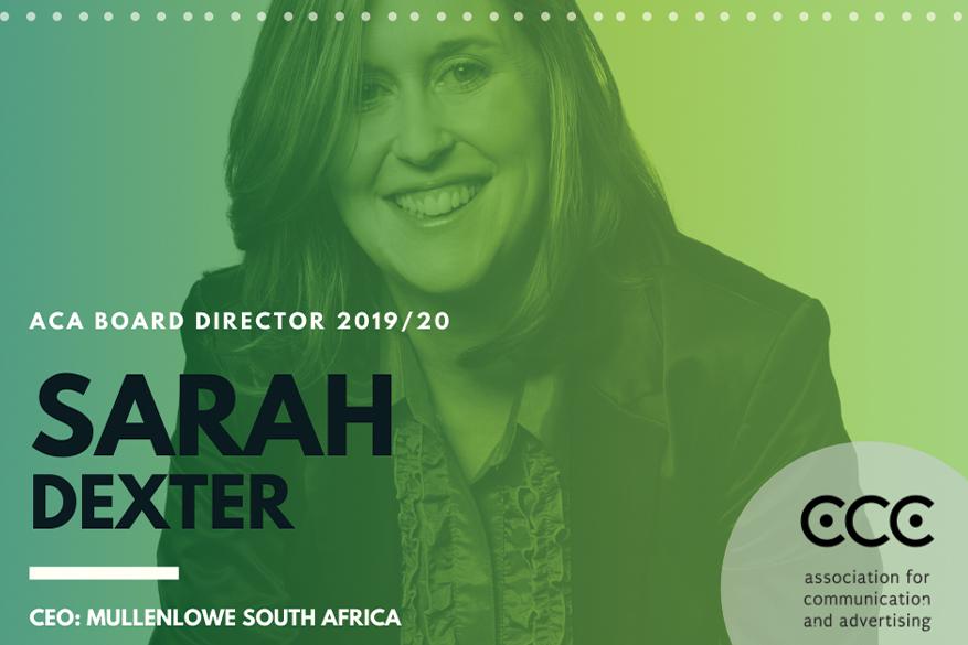ACA Board of director 2019/20: Sarah Dexter